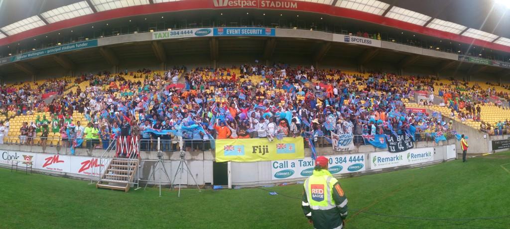 Wellington 7s crowd