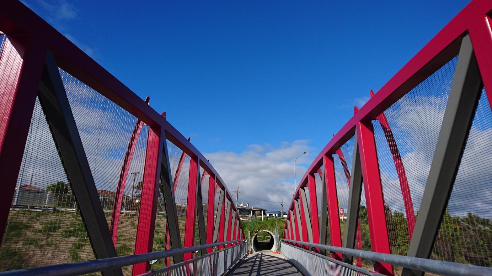 Maungatapu Walking bridge, Bay of Plenty, New Zealand