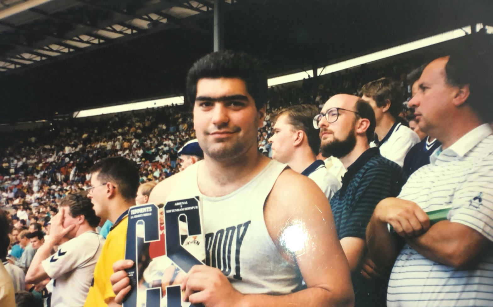 Maru Ririnui at Wembley, August, 1991